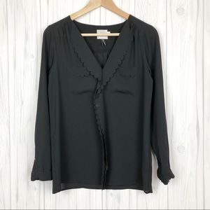 Anthropologie | HD in Paris Scalloped Remi Blouse